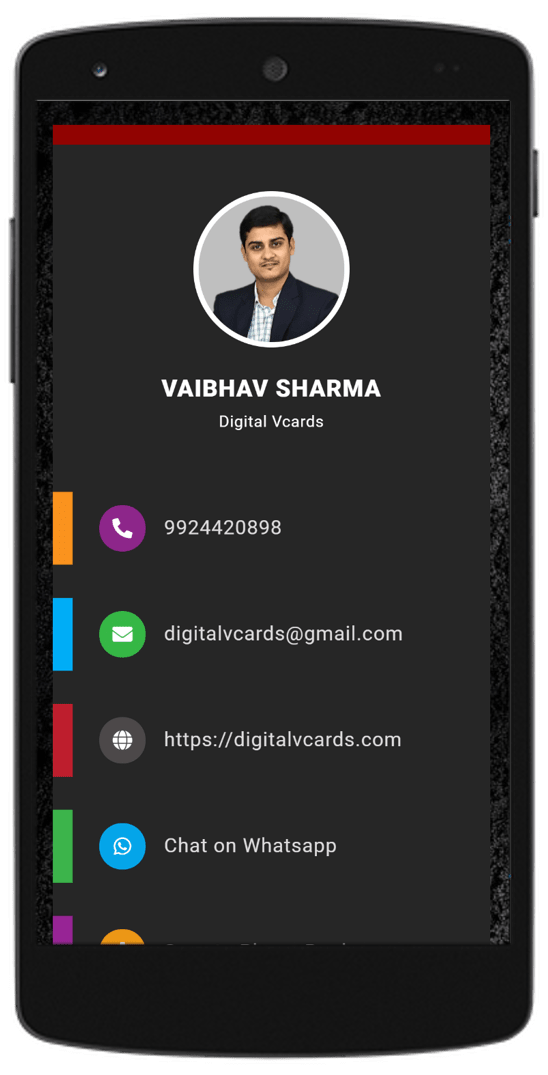 Creative Digital vCard